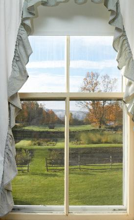 Hollister Hill Farm B&B: View from window of family suite