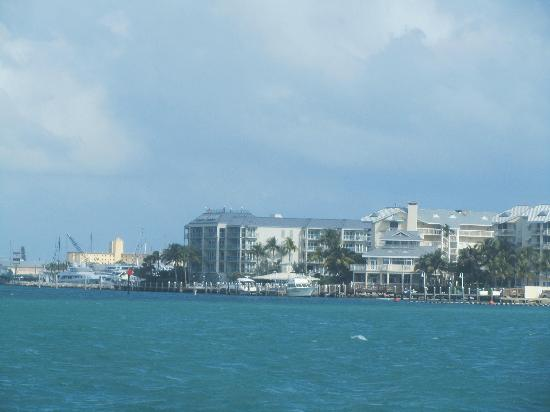 The Galleon Resort And Marina: The Galleon taken from Sunset Key