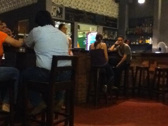 Manhattan Restaurant+Bar: bar area at the Manhatten