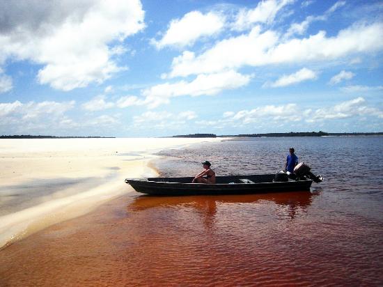 Praia Rio Negro  - Barcelos - Amazonas