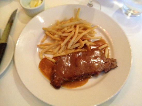 "La Petite France: ""Black Peppercorn"" Steak"