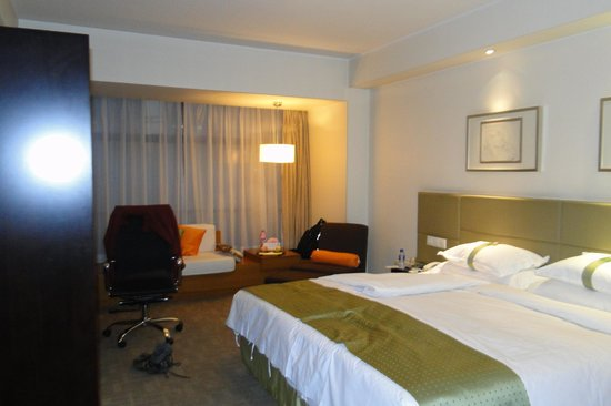 Holiday Inn Central Plaza: Picture of our room