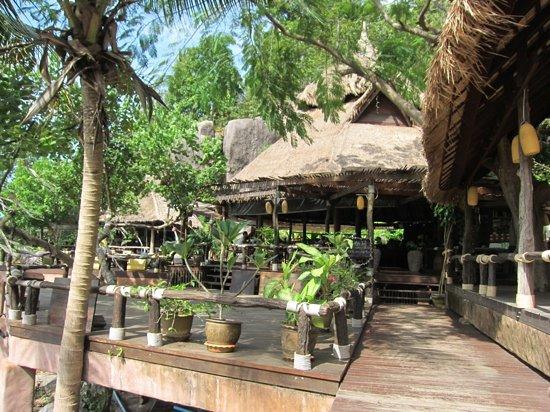 كوه تاو كابانا ريزورت: Rim Lae Restaurant at Koh Tao Cabanas