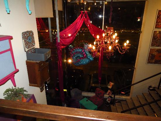 La Folie Cafe: AMbiente singular
