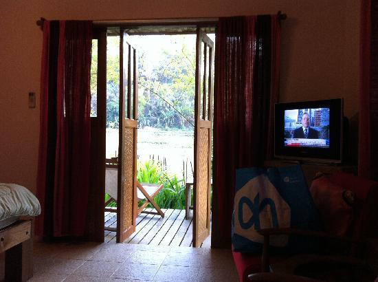 Gims Resort : Blick auf die Terasse