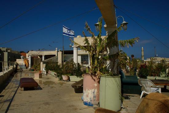 Old Jaffa Hostel : Rooftop terrace view