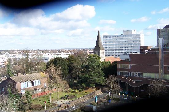 Holiday Inn London Sutton: View over Sutton Town from the Holiday Inn