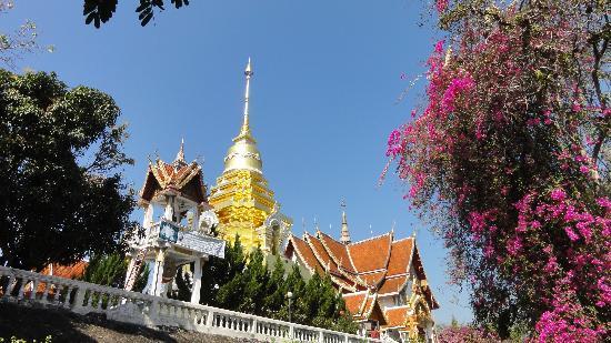 Baan Chai Thung: Tempel Doi Saket