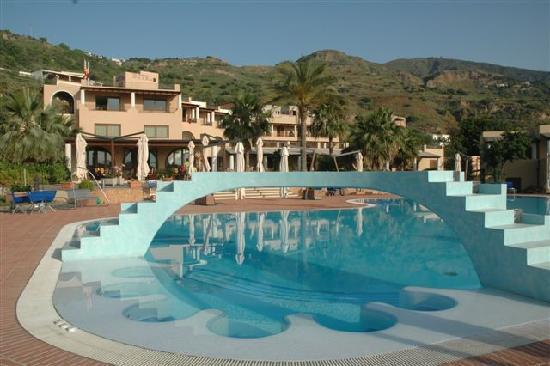 Hotel Aktea: ...der Pool ....