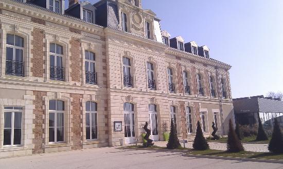 Hotel du Chateau : Façade de l'Hôtel