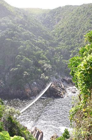 Garden Route (Tsitsikamma, Knysna, Wilderness) National Park: Storm River mouth