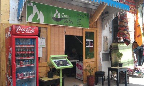 Green Wok restaurant