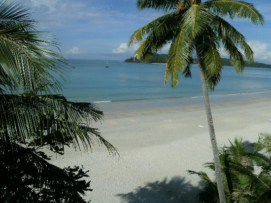 Melati Tanjung Motel: vista desde balcon