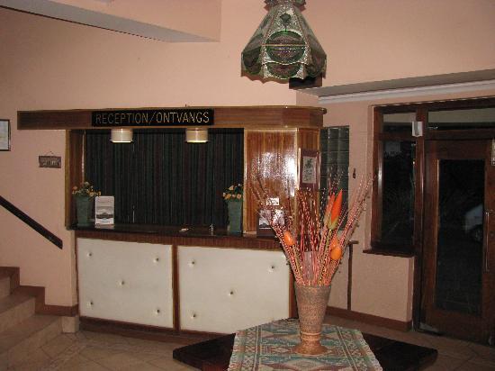 Colesberg Lodge: reception