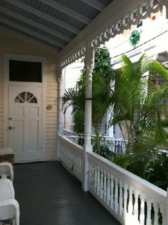 The Palms Hotel- Key West: door to our room