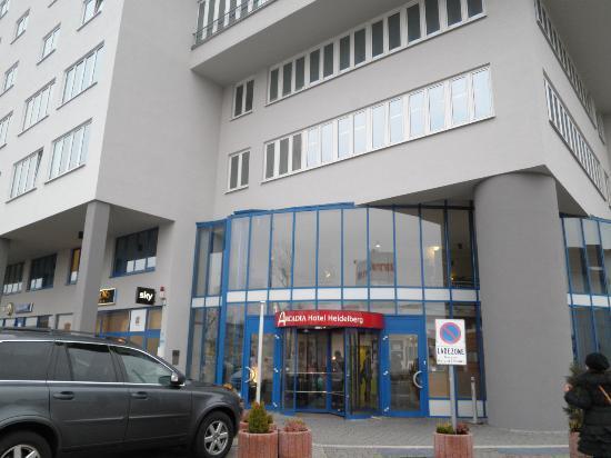 Arcadia Hotel Heidelberg: ホテル外観