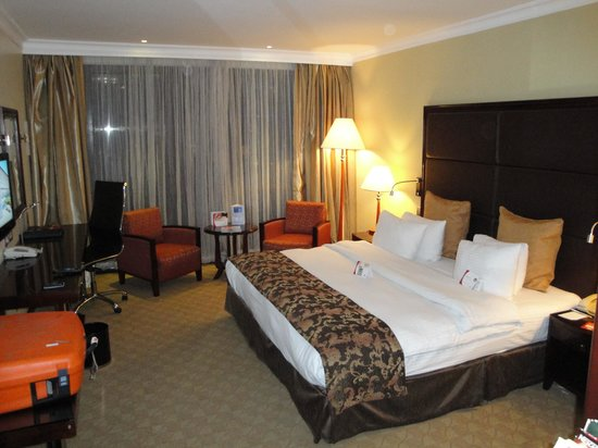 Crowne Plaza Hotel Nairobi: Standard double room