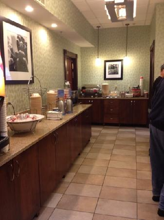Hampton Inn Gaylord : the breakfast