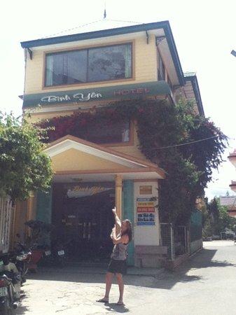 Binh Yen Hotel: bing yon hotel
