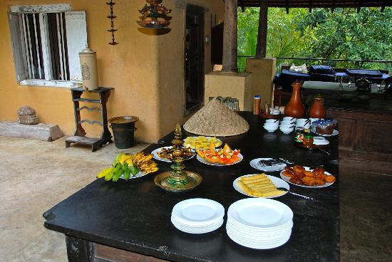 Kandy Samadhi Centre: seul petit déjeuner sympa