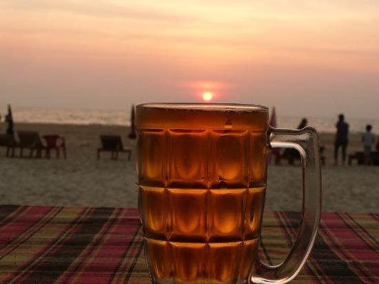 Cansaulim Beach : Sundowner