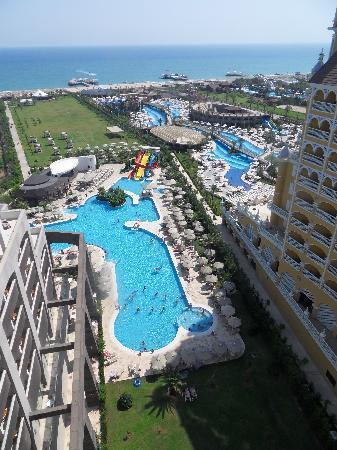 Melas Lara Hotel: vue chambre