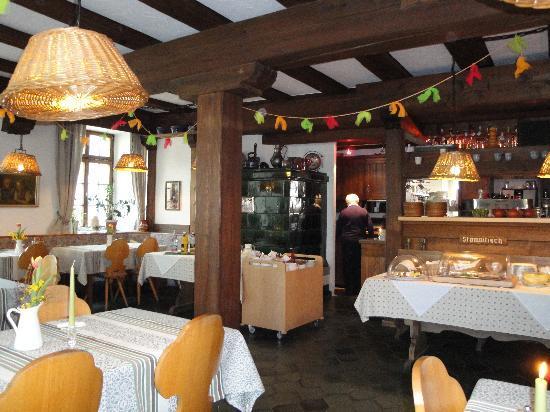 Landgasthof Hirschen Birndorf: Restaurant