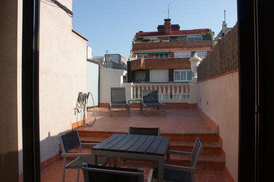 Eric Vokel Sagrada Familia Suites: Terrace