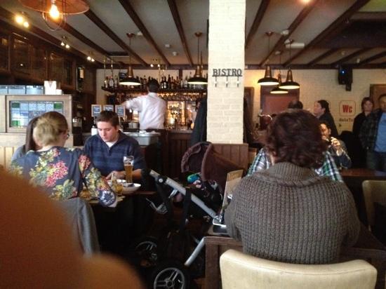 Grand Café De La Bourse: interior