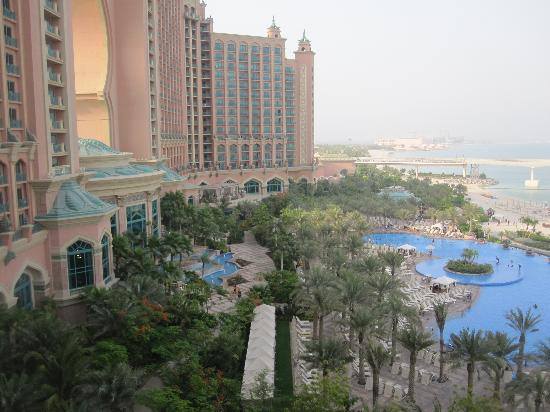Atlantis, The Palm: View from our room