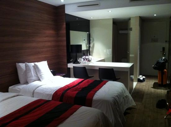 Grand Walkerhill Seoul: room
