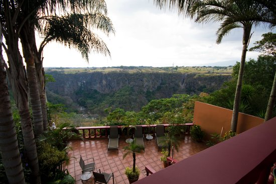 Casa Bella Rita Boutique Bed & Breakfast: Canyon view