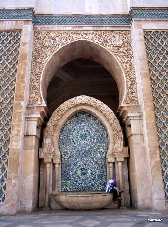 Casablanca, Marocko: Hassan II Mosque