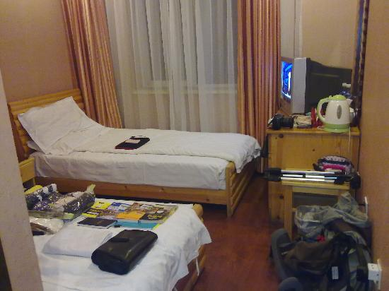 Forbidden City Hostel: twin sharing room