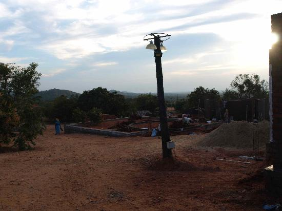 Kadambavanam Ethnic Resort: Construction