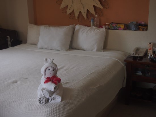 Allegro Cozumel: An sample of the towel arts