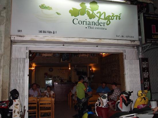 Coriander Thai Cuisine: Coriander entrance