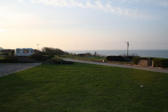 Bron-Y-Wendon Touring Park: view from campsite