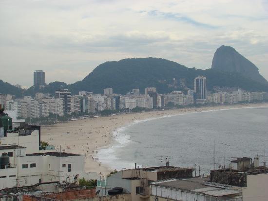 Copacabana Rio Hotel: Vista desde la terraza del Hotel