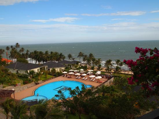 Lotus Mui Ne Resort & Spa : The view from room 1411