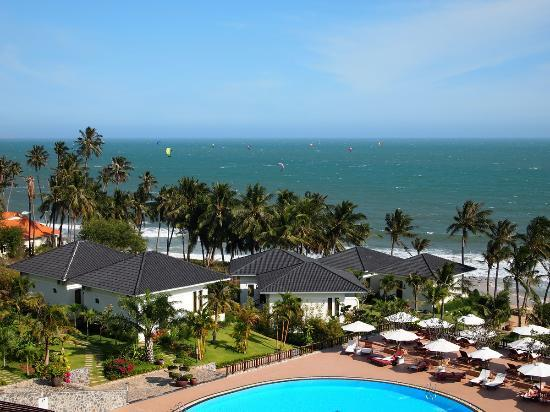 Lotus Mui Ne Resort & Spa : The view from room 1411 once more