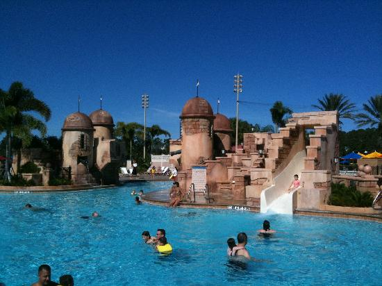 Disney S Caribbean Beach Resort Great Pool For Kids And
