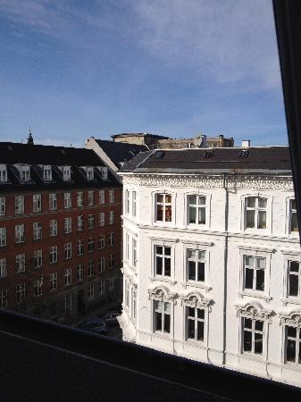 Zleep Hotel Copenhagen City: a view from my room
