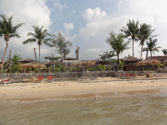 Andaman Bangtao Bay Resort: plage marée basse