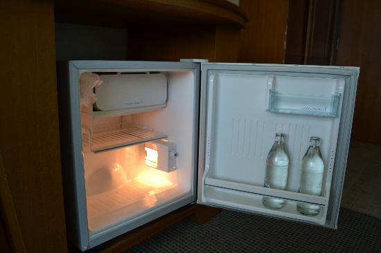 City Hotel: Frigobar com água grátis