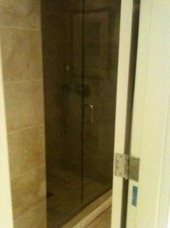 Hotel Teatro: Shower was along the side