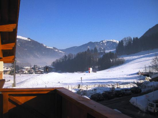 Das Seiwald Hotel: View of the slopes from the balcony