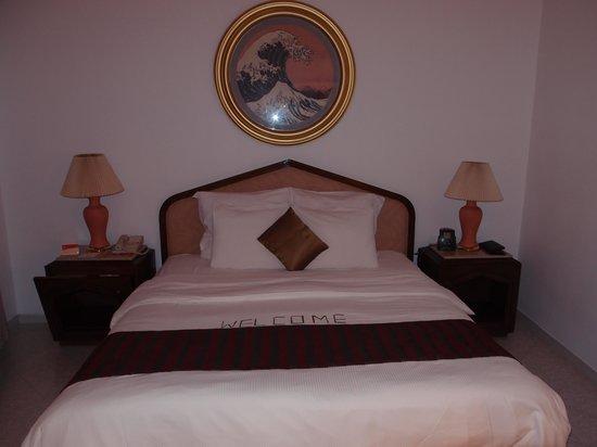 Dahab Resort : King sized Dahab bed