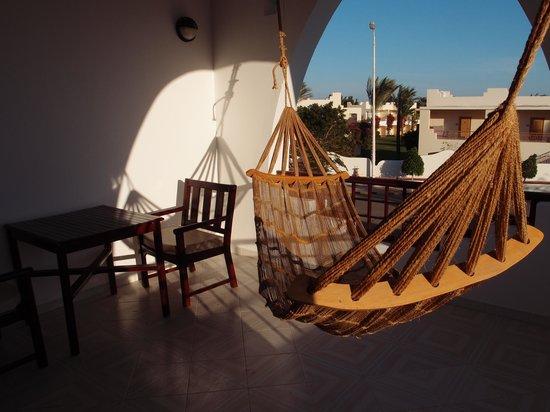 Dahab Resort : really nice sized balcony
