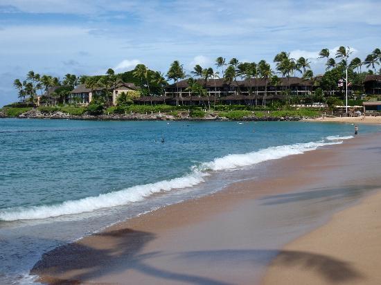 Hale Napili: uncrowded beach